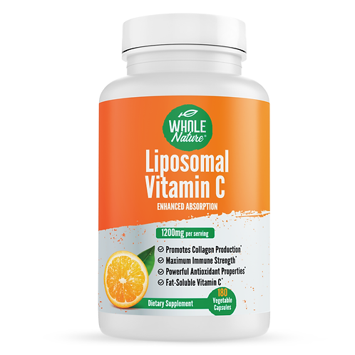 Whole Nature Liposomal Vitamin C  1200 mg