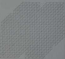 kubus 3 / 50 x 50 cm / tekening / 1978