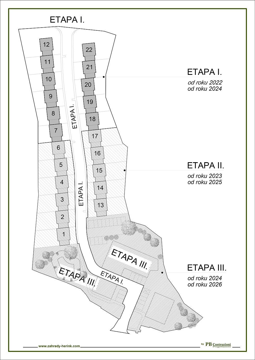 Situační plán _ Řodinný dům - vertikální