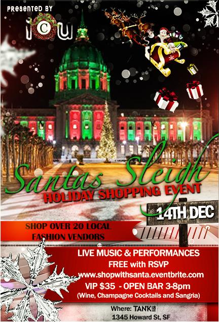 Flyer for Santa's Sleigh
