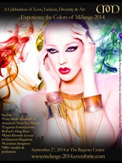 Flyer Melange Fashion Show 2014