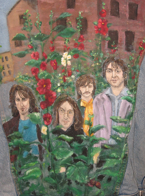 The Beatles in Flowers