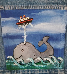 Whale and Ship