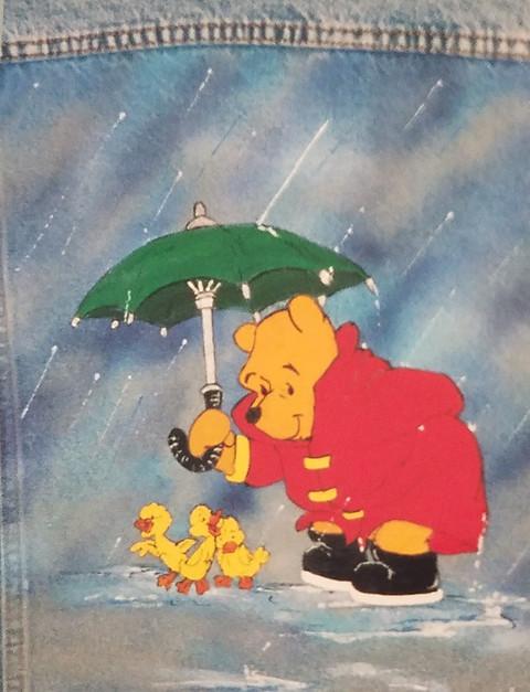 Rainy day Pooh
