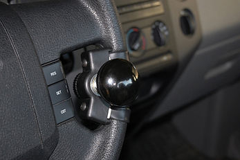 MPS Guidosimplex quality disabled driving aids spinner knob steering device
