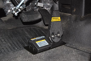 MPS Guidosimplex quality disabled driving aids accelerator guard