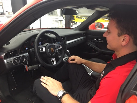 Porsche Driving Experience features MPS Monarch Hand Control