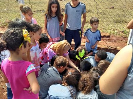 CRV Industrial- Unidade Capinópolis/MG realiza ações ambientais na semana do Dia da Árvore.