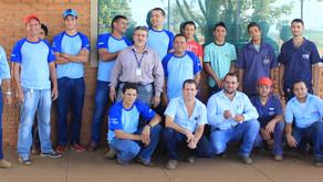 Conclusão de mais um curso profissionalizante através da parceria entre CRV Industrial e SENAI...