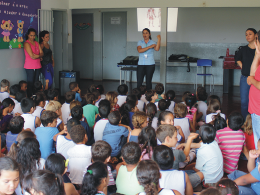 CRV Industrial realiza palestra no Colégio Municipal O Bom Pastor...