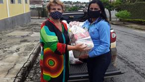 Usina Uruaçu doa cestas básicas