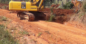 CRV Industrial recupera estradas vicinais...