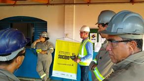 Colaboradores da Usina Uruaçu participam da Campanha Setembro Amarelo...
