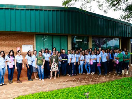 """CRV Industrial realiza campanha """"Outubro Rosa""""..."""