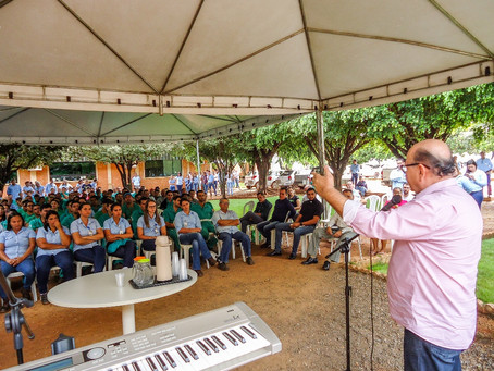 CRV marca abertura de safra com Ato em Ação de Graças...