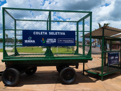 CRV faz parceria para coleta seletiva...