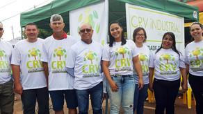 CRV Industrial, unidade Capinópolis, faz doação de mudas para a comunidade...