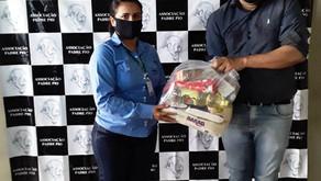 Usina Uruaçu participa de campanha de doação de cestas básicas...