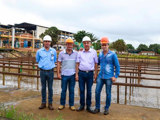 CRV Industrial realiza soltura de alevinos de tilápia, no lago Jalles Machado...