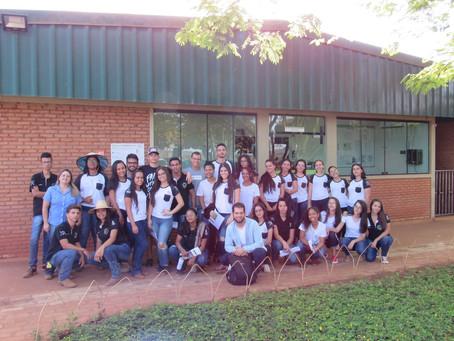 CRV Industrial recebe estudantes do IFG de Ceres...