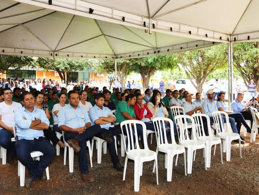 """CRV Industrial realiza """"Ato em Ação de Graças"""" pelo início da Safra 2018..."""