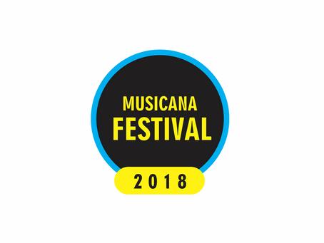 Aprovados na pré-seleção do MusiCana Festival 2018...