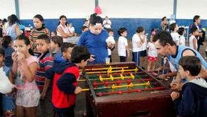 CRV Industrial realiza um dia de lazer para  crianças da comunidade de Carmo do Rio Verde...