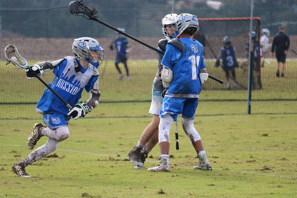 Mission Lacrosse Two Man Game