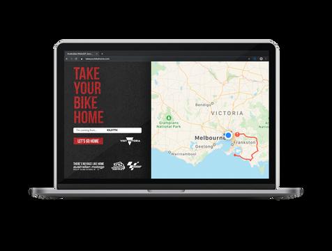Moto GP | Landing Page