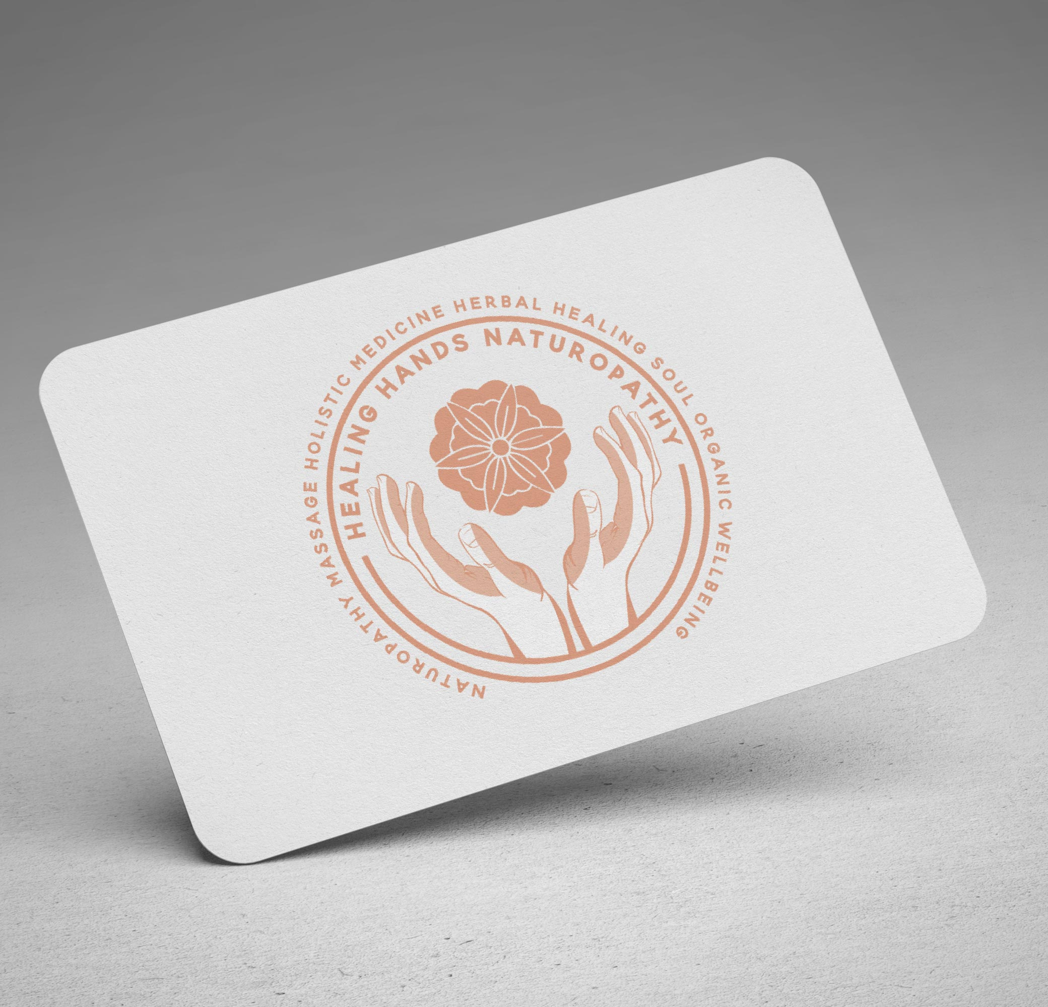 Headling Hands Business Card
