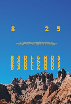 Badlands Mock Poster