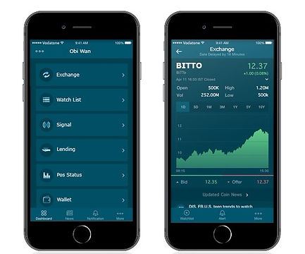 bitto exchange mobile app