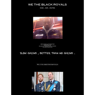 WE THE ROYALS HARRY WILLIAM KEVIN KING A