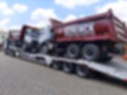 Transporte de Caminhão Basculante