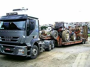 Transporte de Trator Agrícola