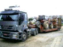 Transporte de máquina agrícola por todo Brasil