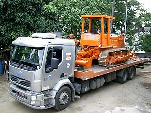 Transporte de Trator Esteira