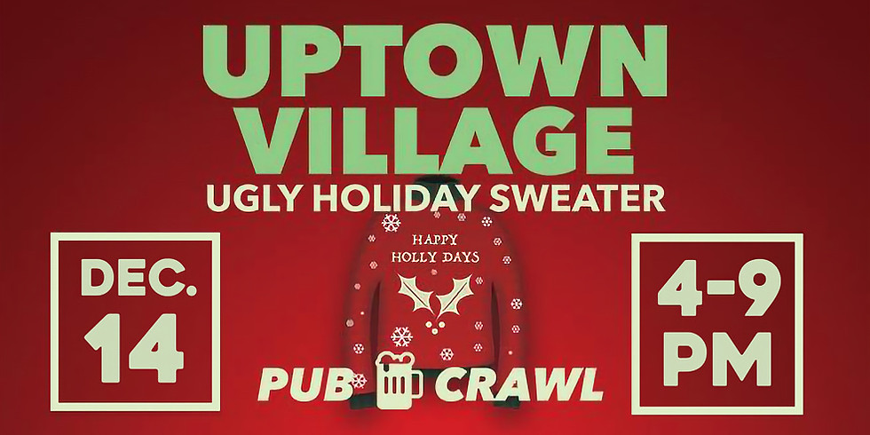 Ugly Holiday Sweater Pub Crawl 2019
