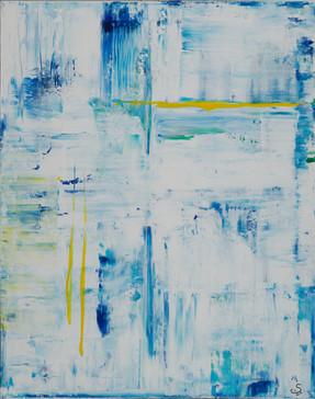 Fresh     I     Acrylique sur toile    I      73x92cm