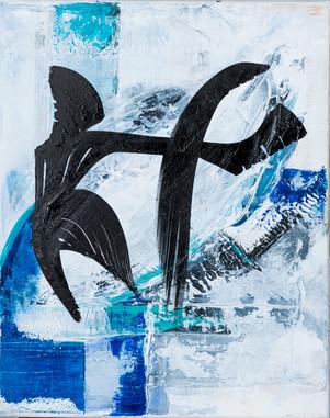 Tango     I     Acrylique sur toile    I      40x50cm
