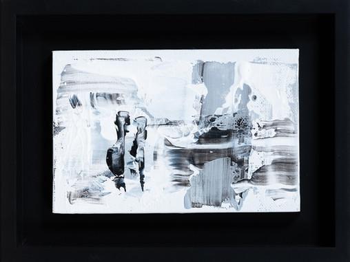 Abstract 10.15.16     I     Acrylique sur toile    I      10x15cm