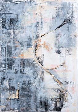 Passionnate     I     Acrylique sur toile    I      81x116cm