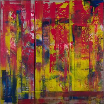 Audacity     I     Acrylique sur toile    I      90x90cm