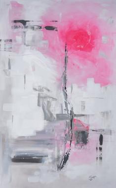 Energy#1     I     Acrylique sur toile    I      116x81cm