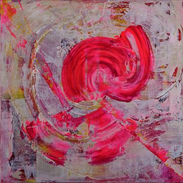 Feminity     I     Acrylique sur toile    I      60x60cm