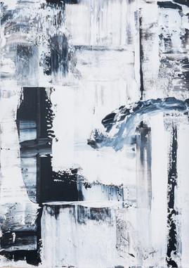 Singing In The Rain     I     Acrylique sur toile    I      60x50cm