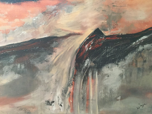 Renaissance     I     Acrylique sur toile    I      80x120cm