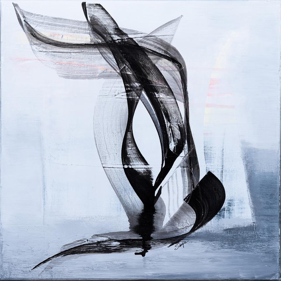 Flame of Life     I     Acrylique sur toile    I      50x50cm