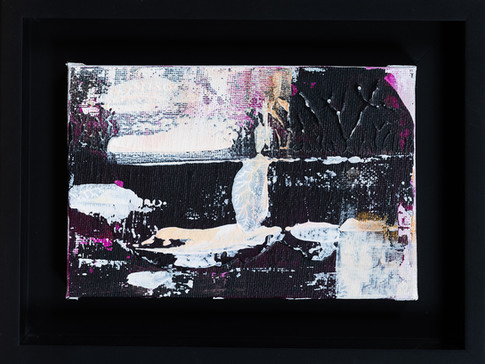 Abstract 10.15.15     I     Acrylique sur toile    I      10x15cm