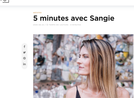 Interview par la Galerie Singulart (partie 1)